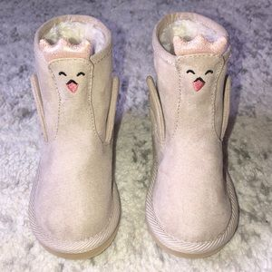 Old Navy Swan Critter Boots for Toddler Girls